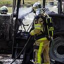 Tractor uitgebrand na kortsluiting in Olst