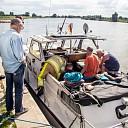 Groot alarm voor brandmelding op Duitse boot bij Wijhe