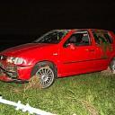 Auto belandt in weiland tussen Luttenberg en Haarle