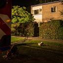 Woningbrand aan de Prinses Marijkestraat in Zwolle