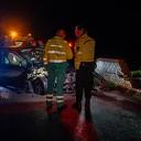 Bestuurster gewond na ongeval in Broekland
